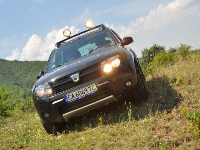 Тест на Dacia Duster Adventure