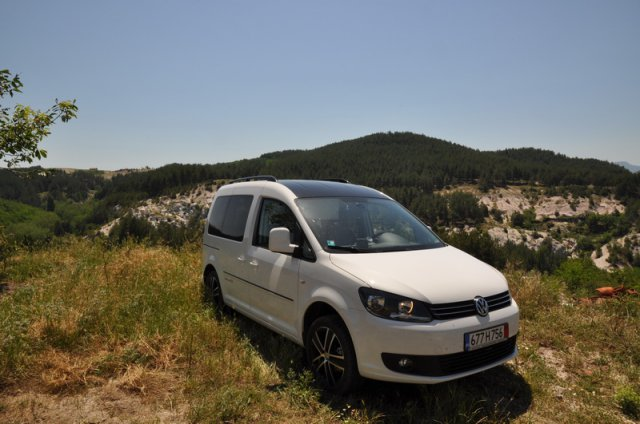 Тест на VW Caddy 30 Edition