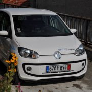 Тест на VW eco up!
